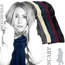 Beechfield - BC469 -  Metro Ribbed Knitted Soft Touch Acrylic Scarf (5 Cols)