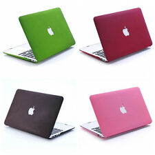 "Matte Hard Case Shell For Macbook Pro 13"" 15"" Retina/ Air 11"" 13"" Cut-OUT 4Color"