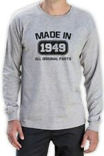 Made in 1949 Long Sleeve T-Shirt 65th Birthday Funny Gift Idea Present Top