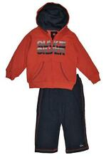 Quiksilver Infant Boys Orange & Navy Hoodie 2pc Pant Set Size 12M 18M 24M $44.50