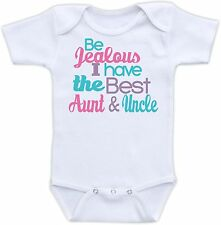 Be Jealous I have the best Aunt Cute Baby Onesie Funny Onsie Cool Shower Gift