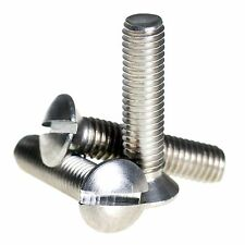 M2 M2.5 M3 M4 A2 Stainless Steel Raised Slotted Countersunk Machine Screws Bolts