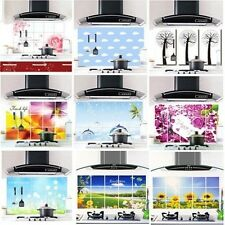 Aluminum Foil Decals Oil proof Stickers Keep Decor Kitchen Wall Paper 45CM*75CM