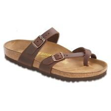 Birkenstock Women's Habana Oiled Leather Mayari Casual Slide Sandals 17132