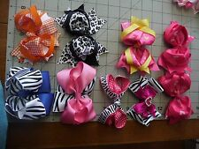 4 - 5 inch Fancy Bow Handmade Exchangeable BOWS for Carols Crate Cover Dog Items