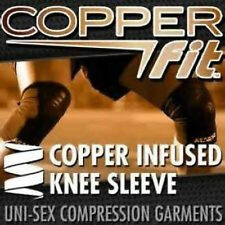 Copper Fit Knee Compression Sleeve 1 Support Choose Size - As Seen on TV