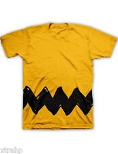 Authentic Peanuts Charlie Brown Costume Adult T-Shirt S-2XL