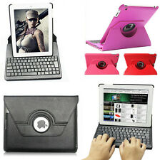 360° Rotating Stand Leather Case Cover with Bluetooth Keyboard for IPad 2 3 4