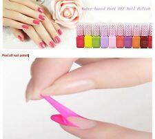 WATER-BASED PEEL OFF NAIL POLISH NON-TOXIC EASY TO REMOVE WITHOUT NAIL REMOVER