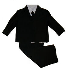 Boys Kids Formal Wedding Christening 5 piece suit *Brand New* Size 1 - 16