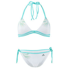 adidas Performance Womens Bikini Swimwear Set Swimming Lycra Swimsuit - White