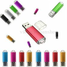 32GB USB 2.0 Bright Color Flash Pen Drive Memory Stick Storage Thumb U Disk Gift
