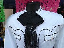 Mexican Charro and Mariachi Black Adult Bow Tie From Mex. Moño Charro/Mariachi