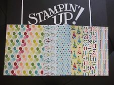 Stampin' Up Designer Series Paper Card Front Layers A2 DSP Fronts (2013-2015)