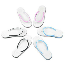 New Women Men's Beach Slip On Flats Slippers T-Strap Flip Flops Sandals Shoes