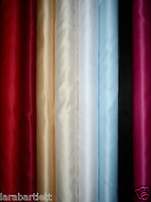 DUCHESS BRIDAL SATIN PROM WEDDING DRESS FABRIC HEAVY MATERIAL 150CMS WIDE
