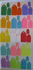 CARDSTOCK GIFT TAGS Lot 30 Choose Size/Color Jewelry Craft Scrapbook Sales SMDTS