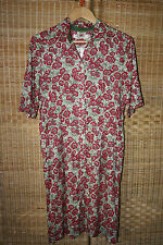 Nice Things Botanical Flowers Shirt Dress