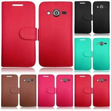 PRE ORDER For Samsung Galaxy Avant SM-G386T Leather Flip Card Holder Cover Case