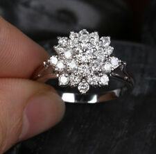 Size 6-10 NEW Luxury Wedding Lady's Shining White Sapphire 10KT Gold Filled Ring