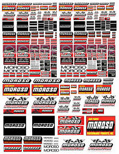 1: 24 1:18 MOROSO DECALS FOR DIECAST & MODEL CARS & DIORAMAS