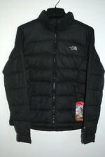 North Face NUPTSE 2 JACKET 700-Fill GOOSE Down Black AUTHENTIC Womens NEW Tags