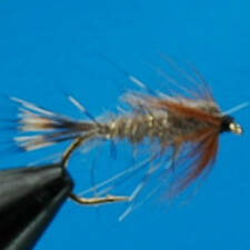 4x HARES EAR NYMPH TROUT FISHING FLY