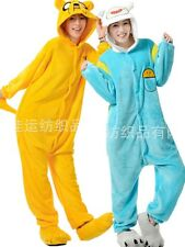 Animal Onesie Sleepwear Adventure Time Jake Pajamas Kigurumi Cosplay Halloween