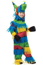 Mexican PINATA Donkey Party Costume Child Boys Girls Kids Toddler 3T/4T 4/6 7/10
