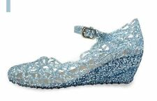 Halloween Girls Ladies Xmas Present Blue Frozen Princess Queen Elsa Jelly Shoes