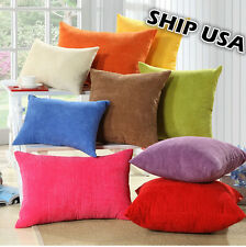 Ship USA! Corn Kernels Corduroy Pillow Cover High Quality! Fast Shipping