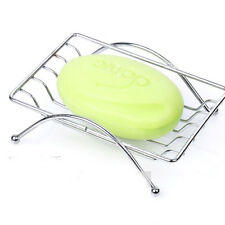 Fashion Convenient Stainless Steel Bathroom Soap Dishes Box Dish Holder