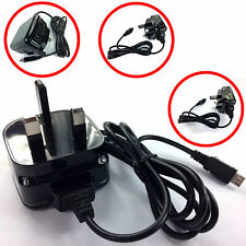 COMPACT CE 1A 1000MaH 3 PIN MAINS WALL CHARGER FOR FOR BLACKBERRY Q10