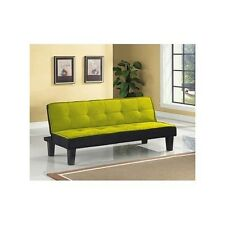FUTON SOFA BED ADJUSTABLE Twin Modern COLLEGE Teen Room APARTMENTSmall Spaces
