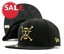 NEW ERA 59fifty ONE PIECE- LUFFY - CAP 100% ORIGINAL JAPAN ANIMATION - gold