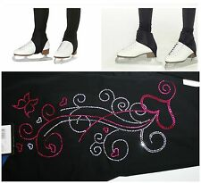 STIRRUP OR SEMI OVER THE BOOT BLING ICE SKATING LEGGINGS WARM /WATER RESISTANT