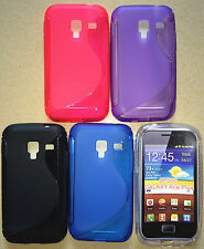 s line soft plastic TPU Gel Cover Case for Samsung Galaxy ACE Plus S7500 S7500T
