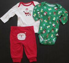 NWT Carters Christmas baby boys outfit santa red size newborn 0 3 months NEW