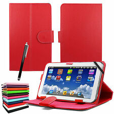 "New Universal Leather Stand Flip Cover For 7"" Inch Tab Android Tablet PC"