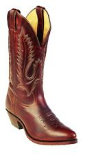 Boulet Western Boots Mens Cowboy Leather Grizzly Mountain 7032