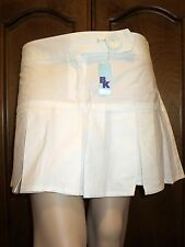 Beautiful White pleated Skirt by BK~ Sizes 1 & 2
