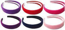 Velvet Suede Alice Band Headband Hair Band Girls Ladies Hair Accessory