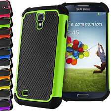 Shock Proof Hybrid Silicone Cover Builder Case For Samsung Galaxy S3 S4 S5 Mini