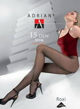Classic Sheer Tights T-band Panty Roxi 15 Den By Adrian