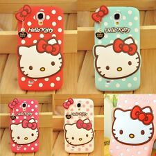 New 3D Cute Hello Kitty Series Soft Silicone Cover Case Fr Samsung Galaxy Models