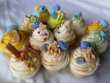 14 x 100% Natural Handmade Mini Cupcake Soaps NEW! Wedding gift present MIX