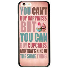 Cupcakes Quotes Pattern Hard Cover Case For Apple iphone 6 /6 Plus