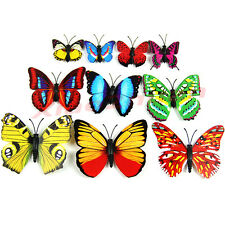 12Pcs 3D Butterfly Room Wall Decoration Fridge Magnets   Magnetic Sticke