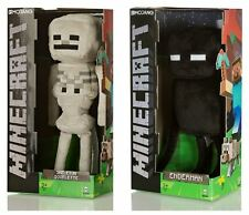 "Minecraft 17"" Plush Enderman Toy or 13"" Plush Skeleton Toy, Suitable For Ages 3+"