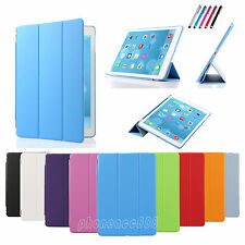 For Apple iPad Mini /Air  Magnetic Leather Smart Stand Cover with Hard Back Case